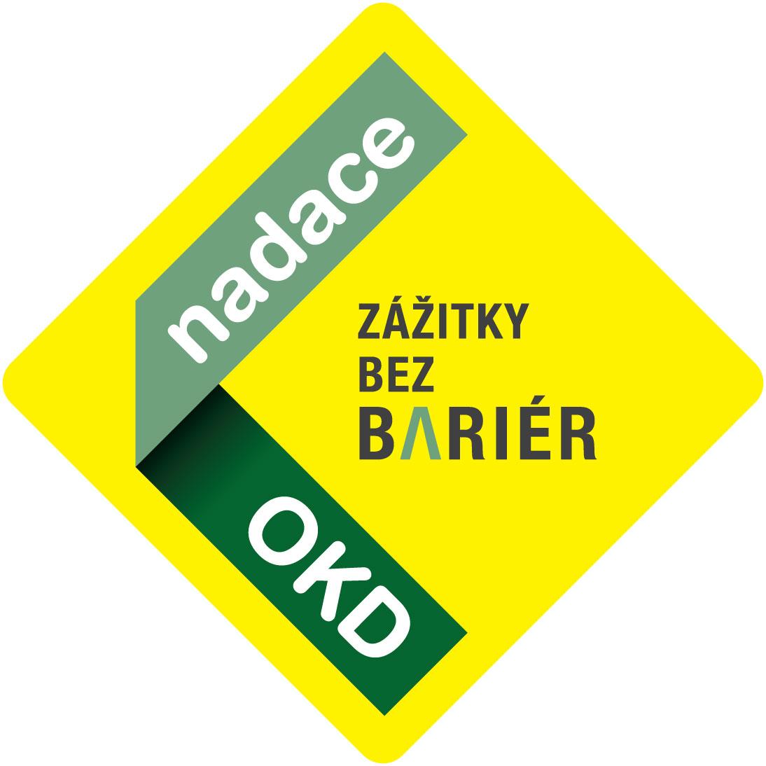 Logo nadace OKD - Zážitky bez bariér